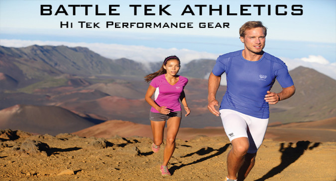 Take on rugged crossfit training in Battle Tek Athletics Clothing and be ready for the battle!