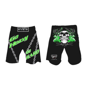 Go Heavy Go Hard Shorts by Battle Tek Athletics Are Perfect For Athletic Training, MMA And Grappling Sports