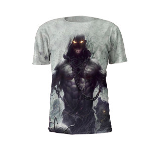 Mega Beast Performance Tee Shirt by Battle Tek Athletics – Front View