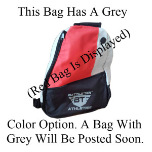 The Grey Battle Tek Athletics Sling Bag Is Perfect Personal and Athletic Gear Transport