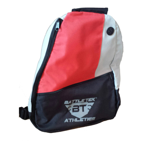 The Red Battle Tek Athletics Sling Bag Is Perfect Personal and Athletic Gear Transport