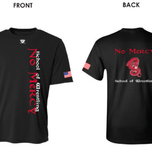 no_mercy_school_of_wrestling_tee