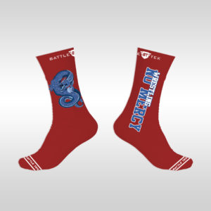 no_mercy_socks_red