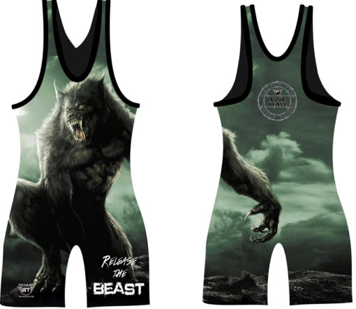 Alpha Beast Singlets   Wrestling Singlets for Youth And Adults