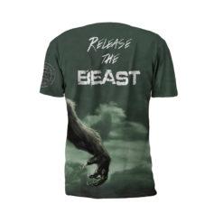 Alpha Beast Performance Tee Shirt by Battle Tek Athletics – Back View
