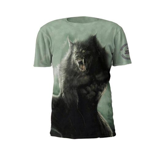 Alpha Beast Performance Tee Shirt by Battle Tek Athletics – Front View
