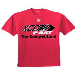 Red Battle Tek Athletics XCLR8 Performance Tee Shirt