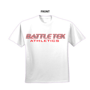 Battle Tek Athletics XFE Cage Warrior Performance Tee Front View
